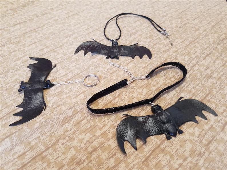 Vampire Bat Accessories  Halloween Chokers Necklaces image 0