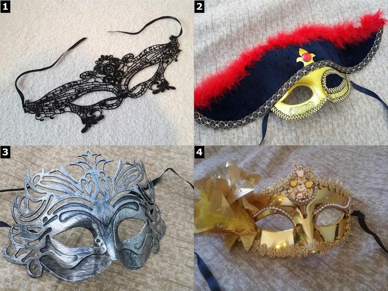 Masquerade Masks  Halloween Lace Sexy Cute Pirate Ninja image 0