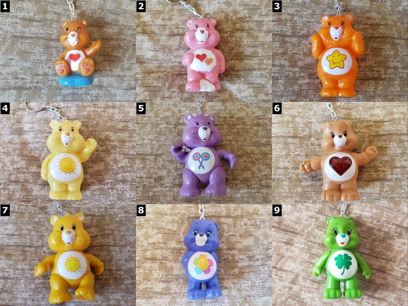 Care Bear Keychains  Select Style  Care Bears image 0