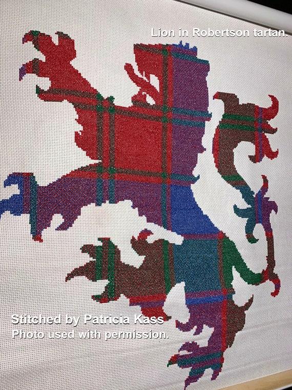 Fergusson Tartan Cross Stitch Pattern