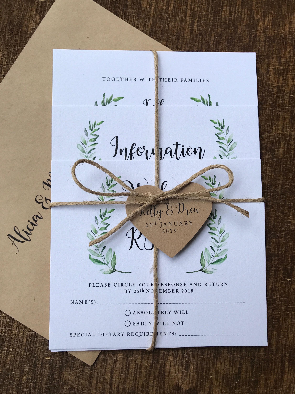 Save the Date Invitations, Custom Luxury Wedding Invites, Handmade  Printable Invitation Digital Print   20 OFF on Any Invitations