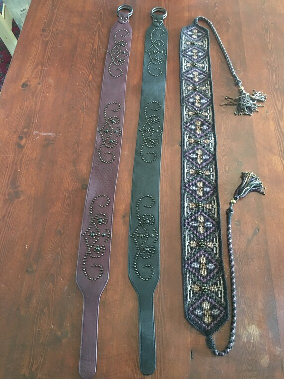 Belts from Peruvian Connection - 3 Belts size Medi