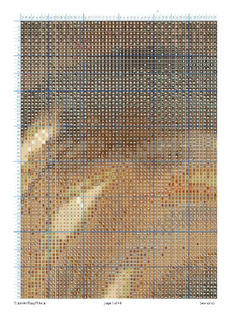 Printable African American Art Digital Black Art African American Art Cross Stitch Pattern Hand Embroidery Black Art Cross Stitch
