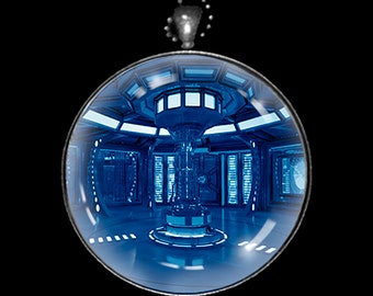 Necklace of a Time Travel Machine Control Console Room - TTMCCR