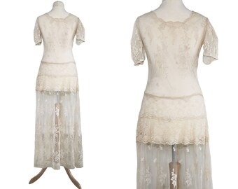 1930s /Edwardian Lace Dress