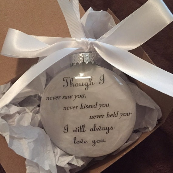In Memory Miscarriage Gift Infant Loss Remembrance