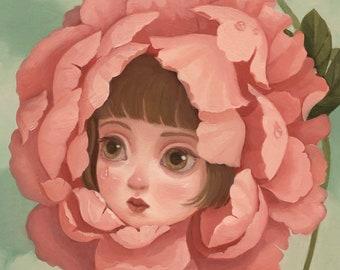 Fleur - 5x7 print