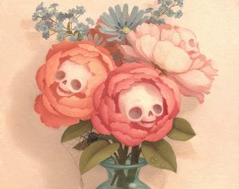 Bouquet - 8x8 print