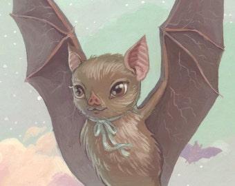 Bat Art Print - 5x7