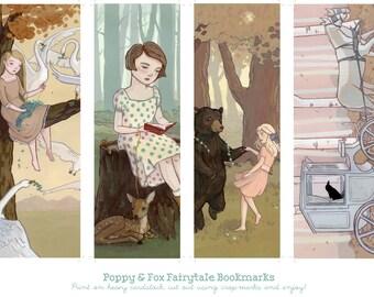 Fairytale Bookmark Printable - Digital Download