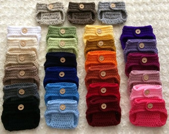 Crochet Diaper Cover - MADE TO ORDER - Your Choice of Size & Color!
