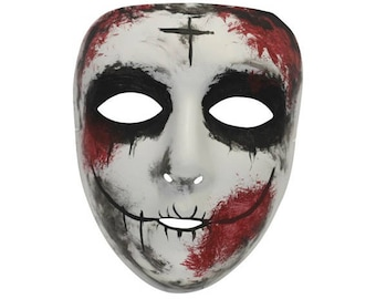 Sinless Scary Purge Similar Masquerade Mask for Men and Women VA-2074 8224a33eb5