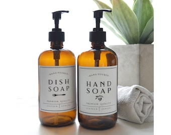 Dish Soap Dispenser Etsy