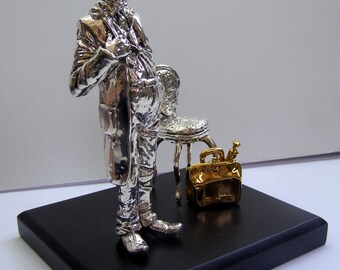 Silver  - Home Decor - Home and Living - 925 Silver -  My Favorite Doctor -  Art -  Sculpture