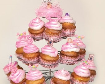 Cupcake Stand (holds 23 cupcakes)