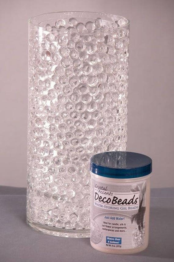 Deco Beads Water Beads Floating Jelly Bead Vase Filler Etsy