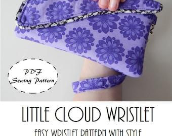 Little Cloud Wristlet: DIGITAL Sewing Pattern