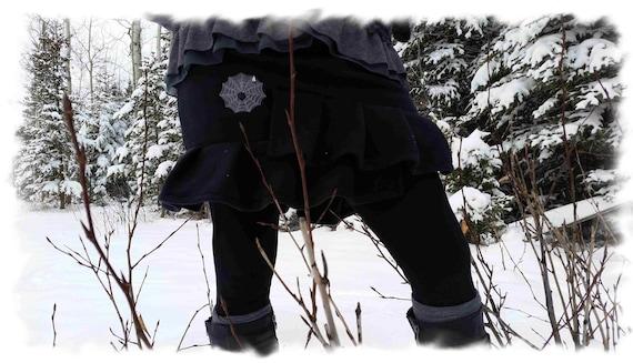Custom Ruffle Me Polar Fleece Skirt