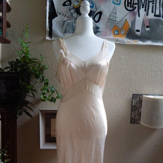 Vintage Pink Nightgown or Slip Dress