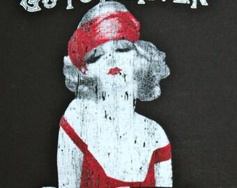 Good Girls Go to Heaven, Bad Girls Go Everywhere - Black Shirt