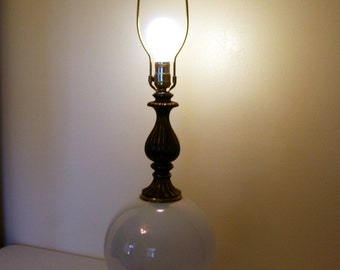 Antiques Antique Furniture Retro Brass Lamp Lighting Brassware Made In England 50% OFF