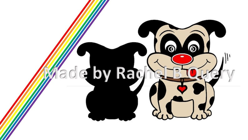 Dog Pug small Puppy Spots Doggies Doggy Tongue Ears Happy Tail Cut File  Digital Download Instant Cut File SVG DXF commercial use