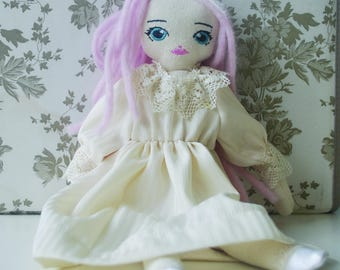 Kit of fabric doll