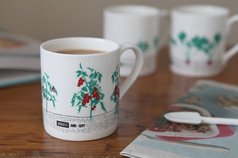 Seasonal Vegetable Gardening Mug Set image 0