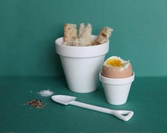 Eggpot & Shovel, eggcup