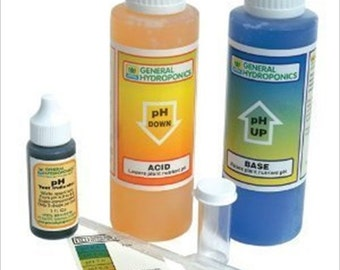 General Hydroponics pH Control Kit - pH Test, Up & Down - For Growing Plants / Gardening