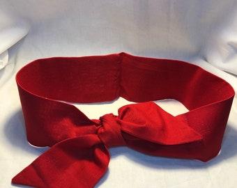 Red pin-Up Style Headband