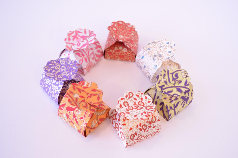 5 Small Favor Boxes Ring BoxWedding Gift Box Indian Wedding | Etsy