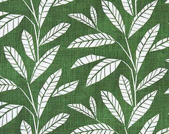 Leaves Pine Designer Fabric Home Decor Fabric Upholstery Fabric - 1/2 Yard