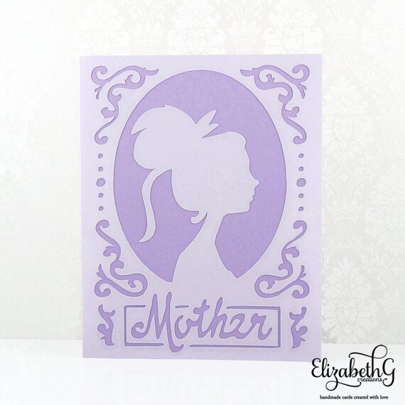 Birthday Card Mom Birthday Cards Handmade Mothers Day Card Etsy