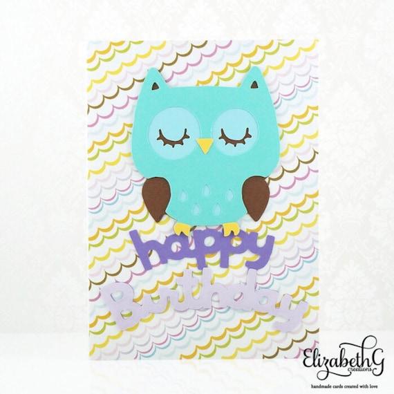 Birthday Card Kids Birthday Card Cute Birthday Card Happy Etsy