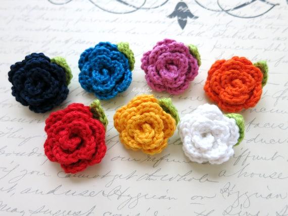 Haak Revers Flower Bruiloft Corsages Mannen Revers Pin Etsy
