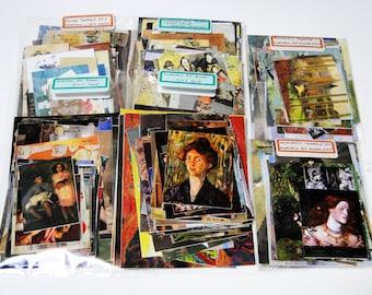 50 Pieces Oil Painting Themed Ephemera Grab Bag,Scrapbooking ,Inspiration kit,Journaling Supplies,Collage Materials,Art Journaling