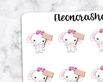 ELEPHANT Stickers — 1049