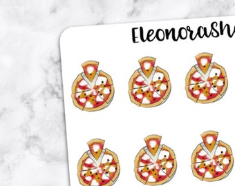 PIZZA PARTY Stickers — 1078