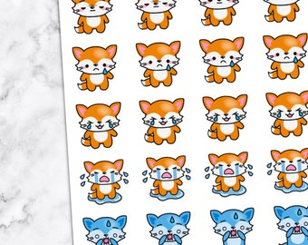 OH NO, SAD, cry, whatever, too funny, stickers — foxy2