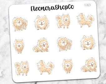 POMERANIAN Stickers — 1063