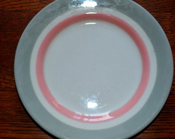 Set Of Two Vintage Shenango China Restaurantware Dessert Plates