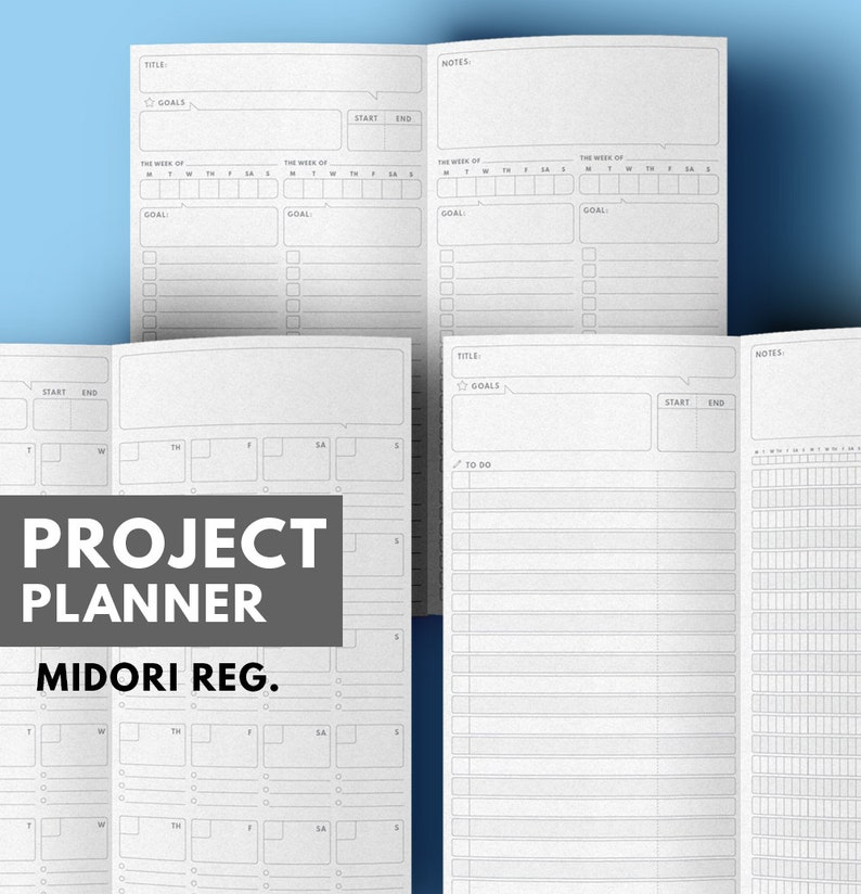 picture about Midori Insert Printable known as Challenge Planner Midori include Printable, Reason Planner Midori Include, Month to month Planner Midori Refill, Midori Holidaymakers laptop add