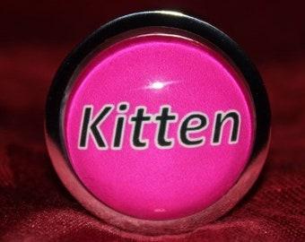 Butt Plug - Anal Plug - Princess Plug - Kitten (Mature)