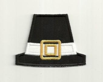 Pilgrim Hat Patch Custom Made!