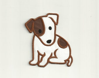 Jack Russell Terrier, Puppy Patch Custom Made!