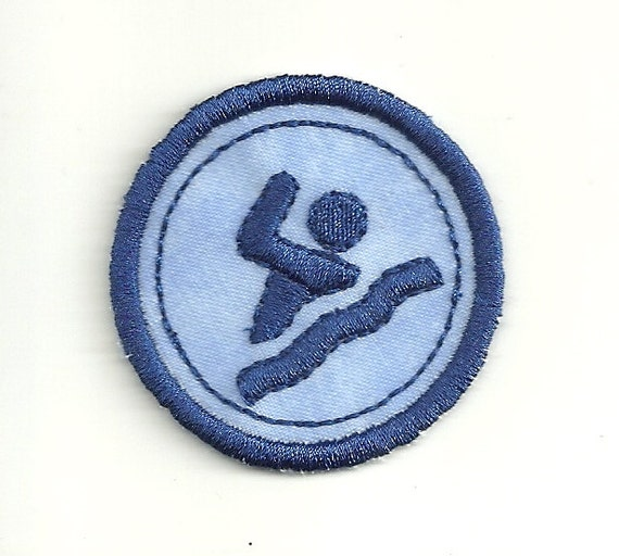 Custom Made! Any Color combo Patch 2 Skiing Merit Badge