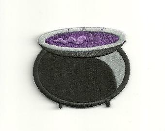 Witch's Cauldron Patch! Custom Made! F2