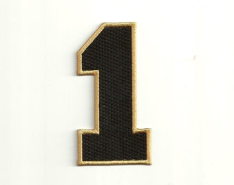 Varsity Number Patch, any color combo, Large Custom Made!