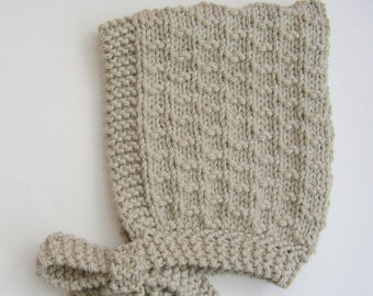 Child's Chunky Knit Pixie Hat - Age 3-5 years - Ready to Ship